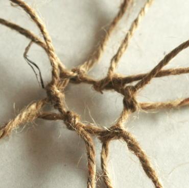 麻紐の結び方