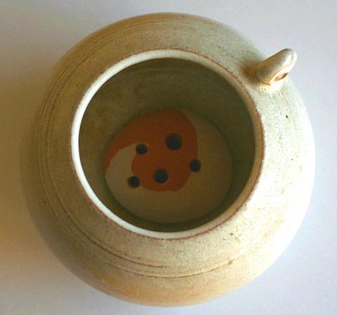 陶器花留め