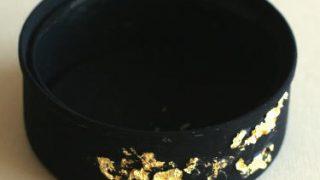 シーチキン缶を、超ミニ水盤に仕立てる