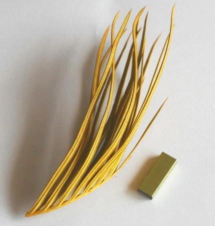 ホッチキスの針(カラー 100均製)